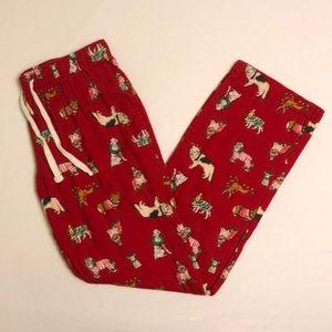 LIKE NEW Old Navy Christmas Dog Pajama Pants